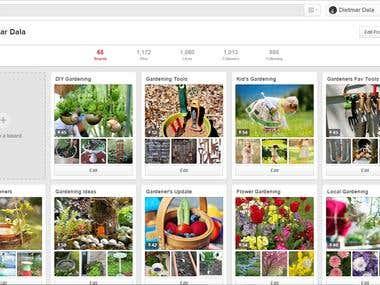 Pinterest Project Management