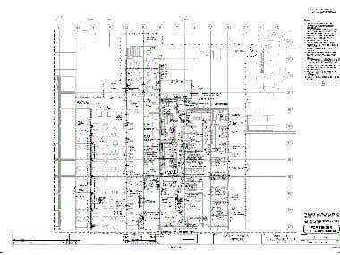 Power Layout Drawing