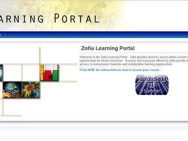 school teachers/students portal