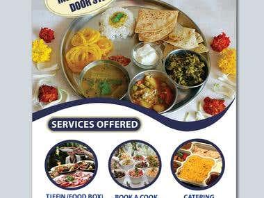 www.meals4me.co.uk (Design a flyer)