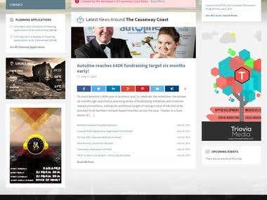 WordPress Community Site Development