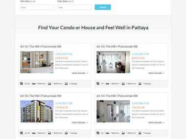 WordPress Real Estate Site Development