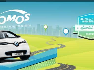 EV Car Sharing Application