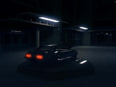 Car rendering test
