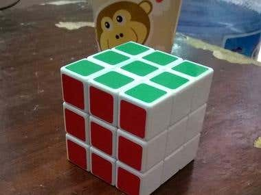 Rubic solved quickly!