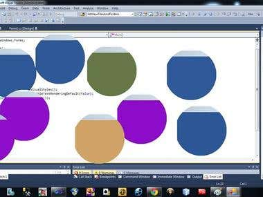 C# colors and figures game!