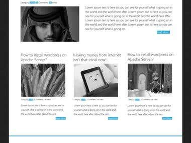 waZeem Wordpress Theme