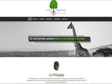 Informational Website (PSD to Responsive HTML)