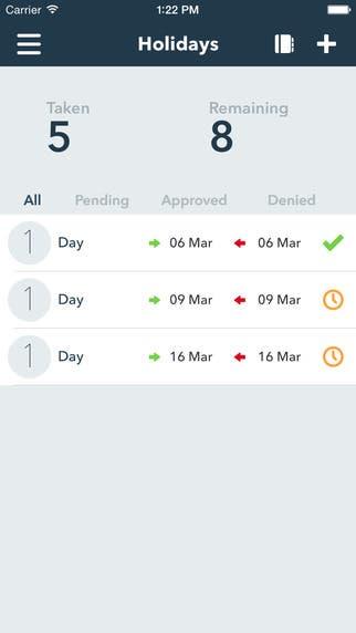 People HR mobile app