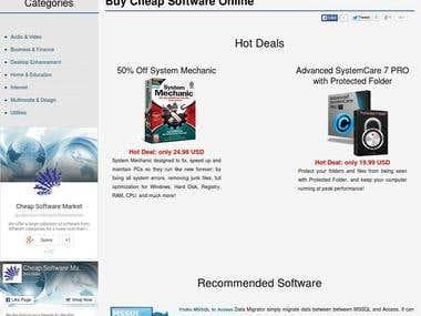 Client - Cheap Software Market