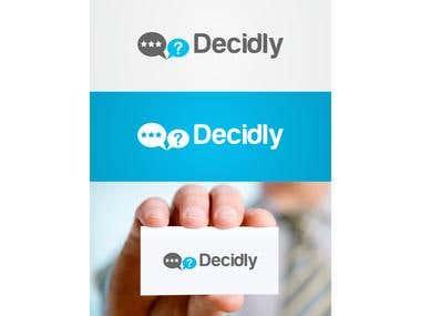 Decidly Logo Design