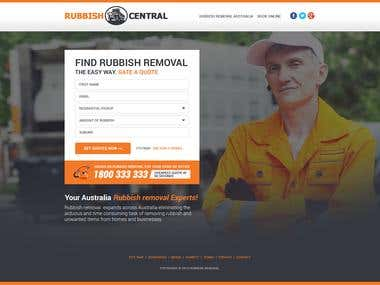 Rubbish Landing_Page