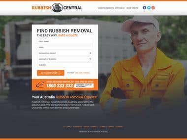 Rubbish Landing_Page