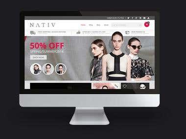 Native Website
