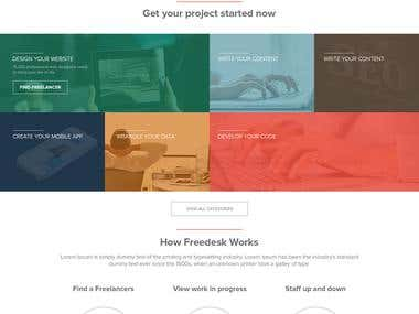 Freedesks Website