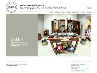 Dekato - handicraft responsive website