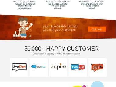 Customer Support Mockup