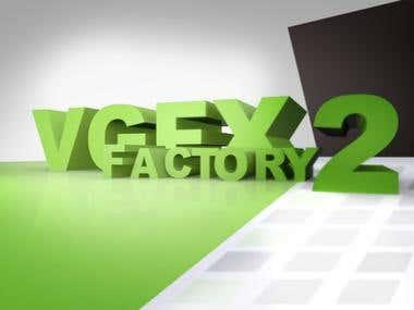 Videographics Factory Logo