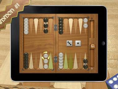 English-Portuguese Translation: Backgammon Masters Videogame