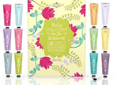 label design, box design / cosmetic