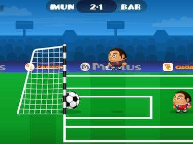 Eng-Por Translation - Champion Football (Mini-game)