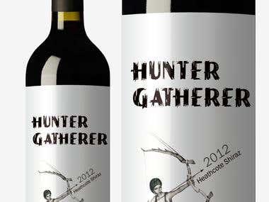 label design / vine