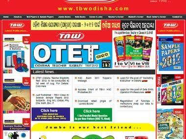Static HTML Website