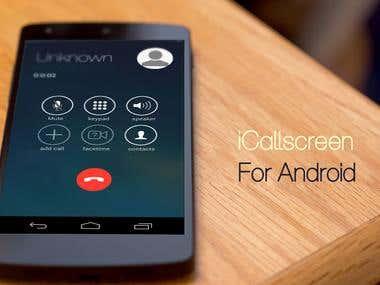 i Call screen Free