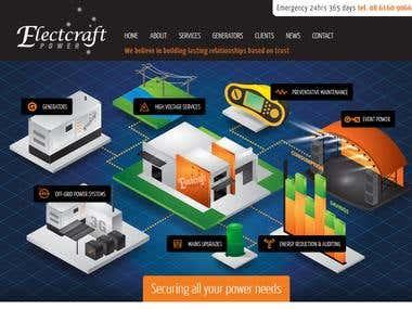 WordPress Website - Electcraft