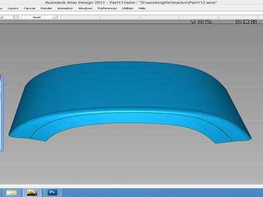 Design & Analysis of Sheet Metal Part for Auto Industry