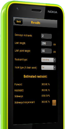 Load Restraint Calculator