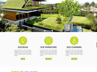 Eco House - WordPress WooCommerce Theme