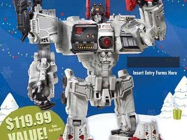 Transformer Giveaway