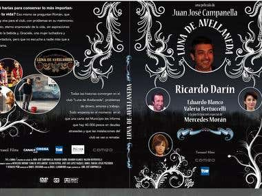 "Redesign of DVD cover for ""Lunes de Avellaneda"""