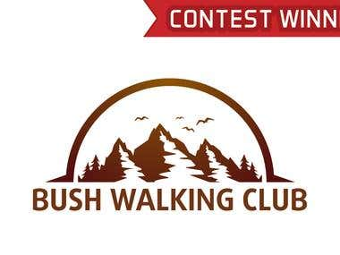 Design a Logo for Bushwalking Hiking Club