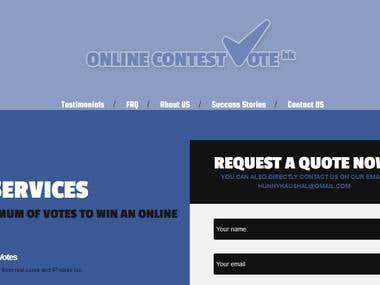 Online Contest Votes