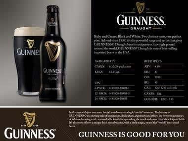 Guinness Sell Sheet