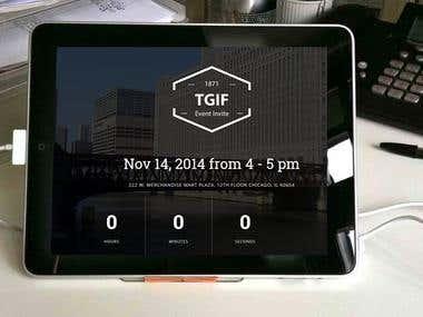 TGIF Landing Page