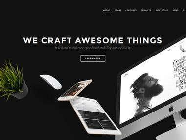 Dark Themed Website   Bolfox