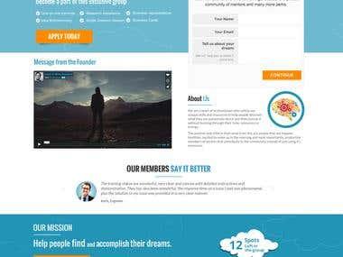 Landing Page Edreaming