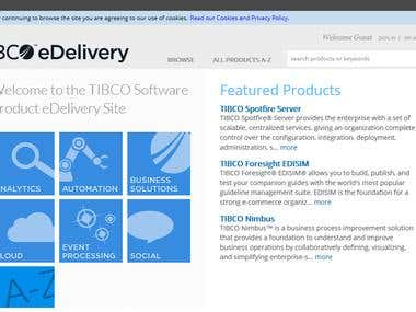 TIBCO - A Standard Online ecommerce B2B