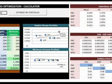 Portfolio Optimization Template