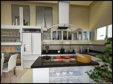Interior Designs, Kitchen Designs, and Interior Renderings.