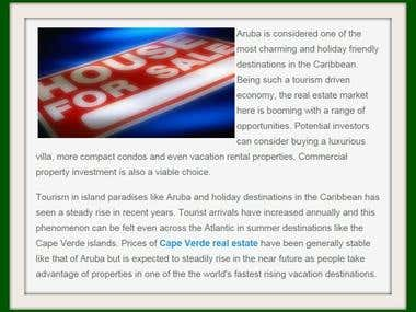 Article on Aruba