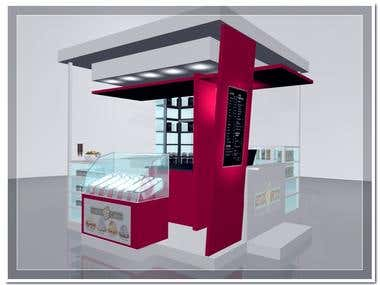 OUTSIDE KIOSK DESIGN