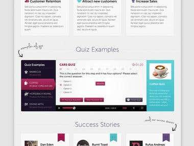 Website Design - QuizTiger