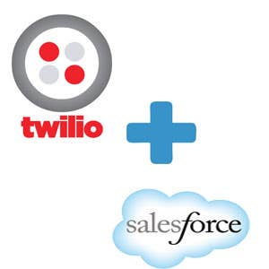 Salesforce to Twilio