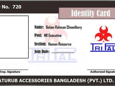 Employee-ID-Card Design