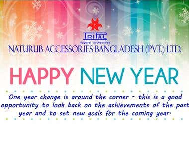 New-Year Card for Corporate-Email