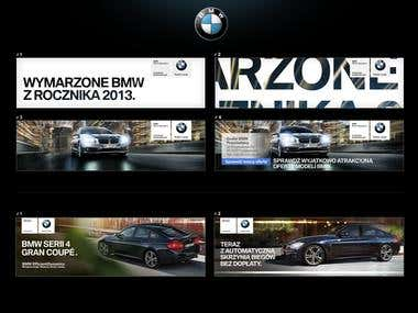 BMW Banners
